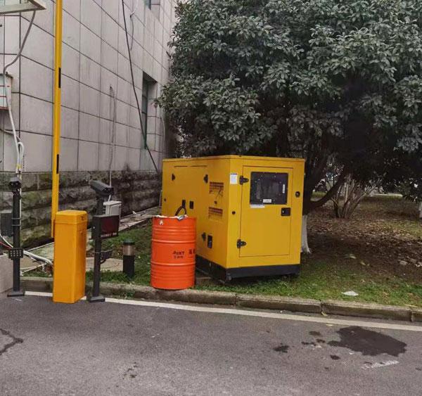 玉柴低噪音50kw发电机组